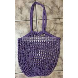Háčkovaná sieťová taška - stretch
