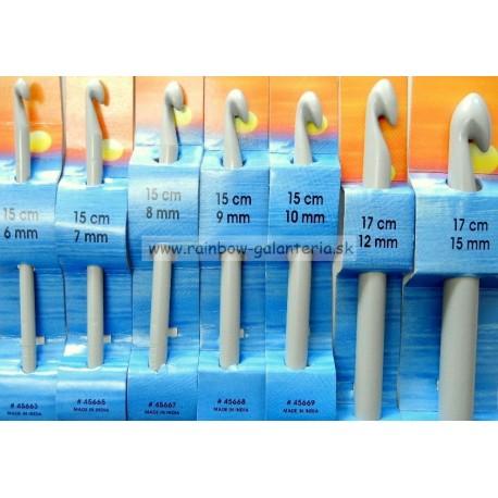 Háčik plastový 15 cm - PONY veľkosť 6,0