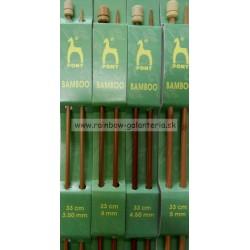 Bambusové ihlice 33 cm PONY- veľkosť 6