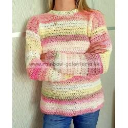 Melírkovo batikový pulóver