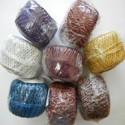 Polyester, kovové vlákno