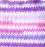 80434 - ružová + fialová + biela