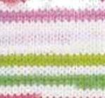 81117 - biela + ružová + zelená
